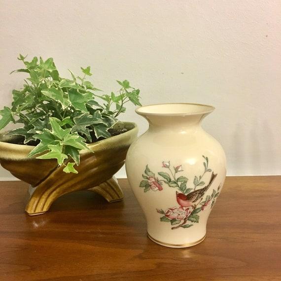 Vintage Lenox Serenade Medium Vaselenox Porcelain Vaselenox Etsy