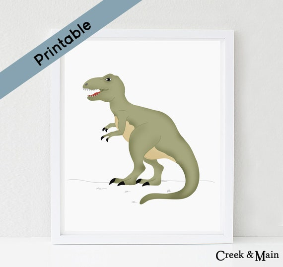 graphic relating to Tyrannosaurus Rex Printable named T Rex Artwork Print, Dinosaur Nursery, Printable, Nursery Decor, Dinosaur Decor, Nursery Artwork Prints, TRex, Tyrannosaurus Rex, Dinosaur Artwork Print