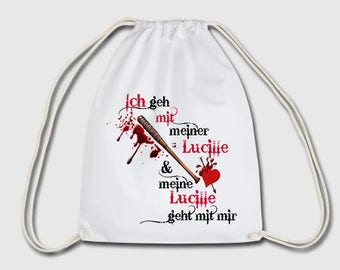 The walking dead sports bag bag backpack gift for Christmas, birthday or Easter