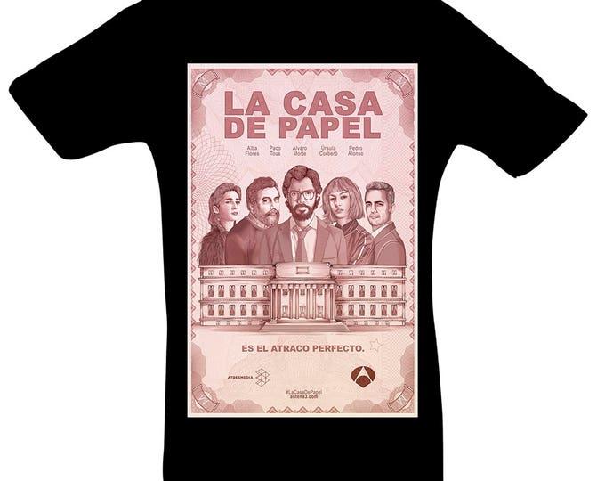 House of Money La Casa de Papel espania Spain bella Chiao tshirt shirt gift for Christmas birthday or Easter
