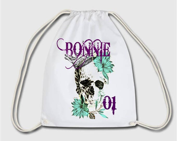 Bonnie and Clyde couple few sports bag bag backpack gift for Christmas, birthday or Easter
