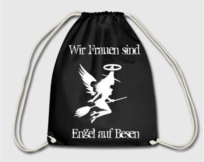 Witches backpack Angel broomstick sport pouches gift for Christmas day or Easter