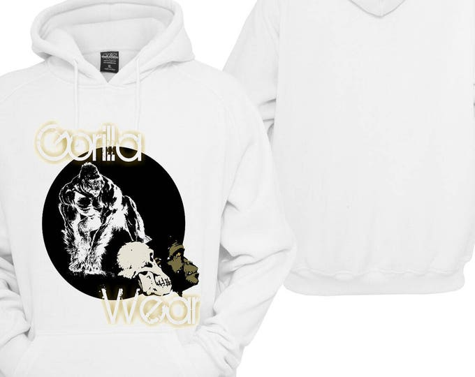 100% hot stuff Gorilla wear animal animal Hoodie pullover Hoodie gift sayings Sweatshirt