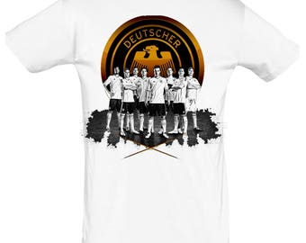 Football Germany tshirt gift for Christmas, birthday or Easter