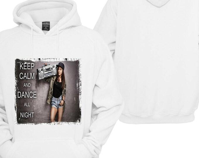 100% hot stuff keep calm and dance Hoodie pullover Hoodie gift sayings Sweatshirt