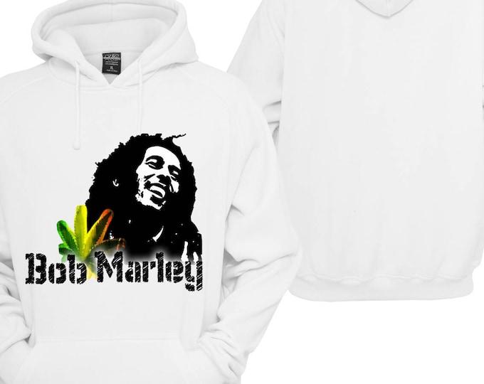 100% hot stuff Bob Marley Hoodie pullover hooded sweater gift sayings Sweatshirt