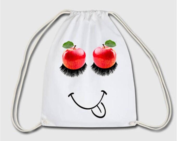 Apple sport bag bag backpack gift for Christmas, birthday or Easter