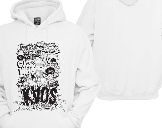 100% hot stuff chaos Hoodie pullover Hoodie gift sayings Sweatshirt