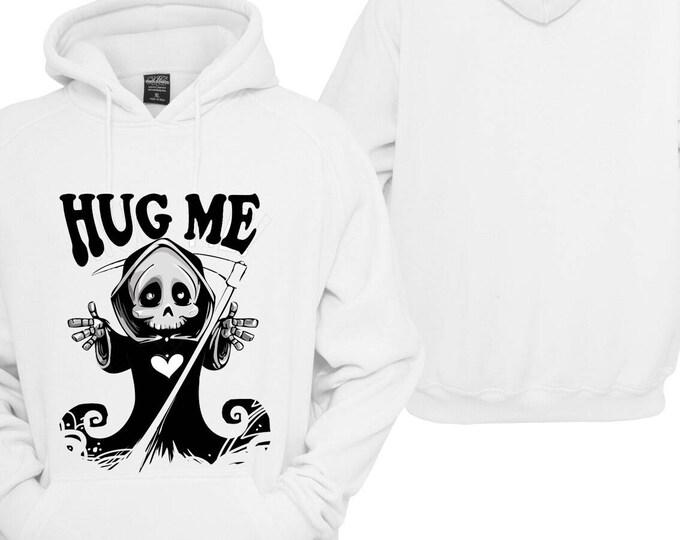 100% Hot Stuff Hug Me give me a hug Hoodie pullover Hoodie gift sayings Sweatshirt