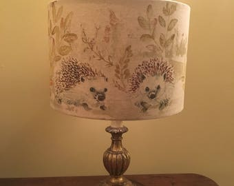 Handmade Hedgehog Lampshade