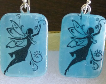 Faerie Earrings! Two Iridescent Styles Available