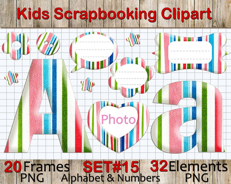 779a1636a87 Alphabet Clipart  Rainbow Scrapbooking Clip Art Rainbow