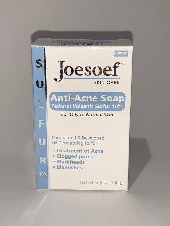Sulfur Soap 2 Pack Sulfur Soap Joesoef Skin Care Acne Etsy