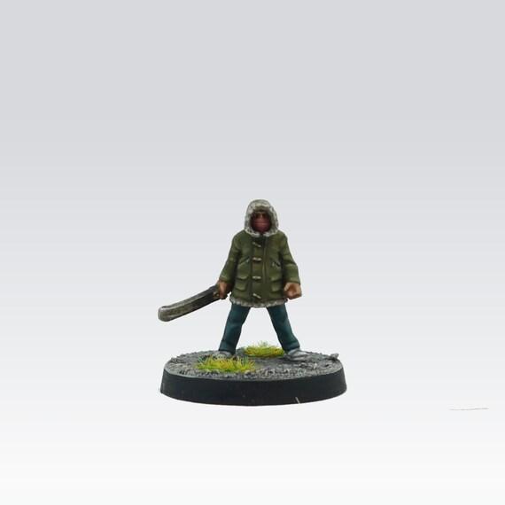 Parker (w/Machete) échelle de 28mm pour le modèle - sans Minis - Wargame peint - mâle moderne aventurier jeunesse/Boy