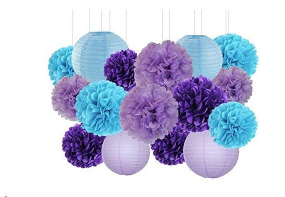 "5 pcs OF 8/"" 10/"" Chinese Paper Lantern Wedding Party Floral Home Side Store Decor"