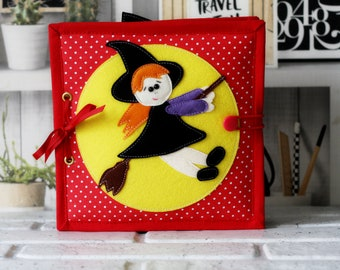 halloween quiet book PDF Quiet Book Sewing Pattern 6 activity pages