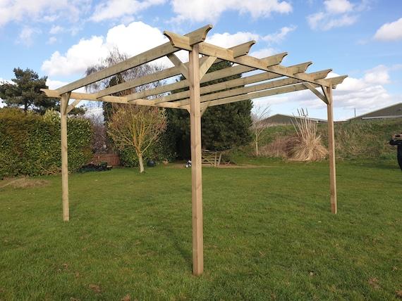 Champion Wooden Garden Pergola Kit Exclusive Pergola Range Etsy