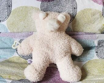 Soft teddy bear fur