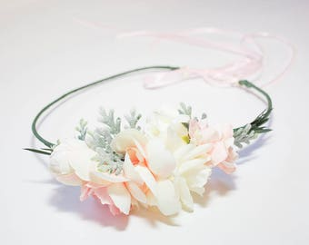 Flower Crown | Bridal Flower Crown | Flower Crown Photo Prop | Bridal Hairpiece