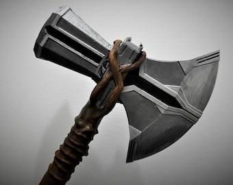 Thor Stormbreaker New hammer from Infinity War. Avengers Infinity war Replica Cosplay