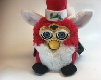 Bargain Time!  Full-Size Furby Electronic Santa Needs a Little Help This Year