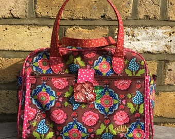 9fe2581bafa Boho Bag, Floral Bag, Hippie Bag, Gypsy Bag, Summer Bag, Festival Bag,  Handbag, Handheld Bag, Beach Bag, Oilily Bag