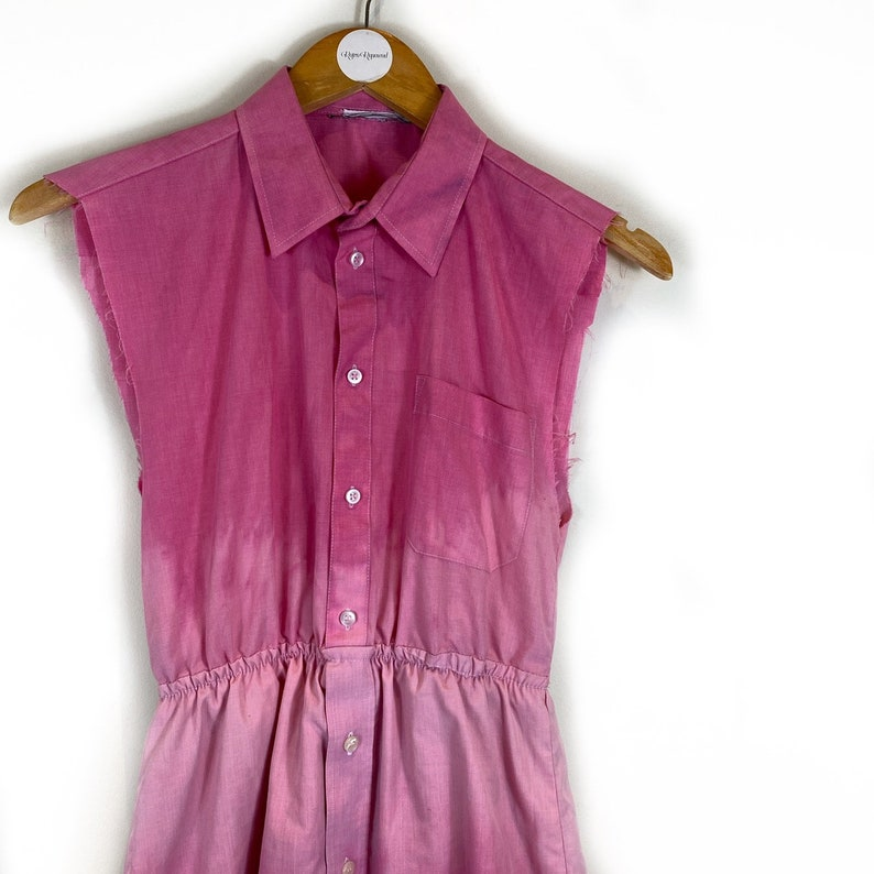 Retro Dress 90s Style Dress Mini Dress Hippie Dress Acid Wash Dress Hippie Tunic Top Boho Top Boho Dress Tie Dye Dress Tie Dye Top