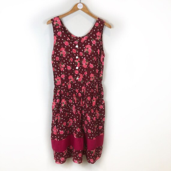 Boho Playsuit, Floral Playsuit, Vintage Playsuit,… - image 2