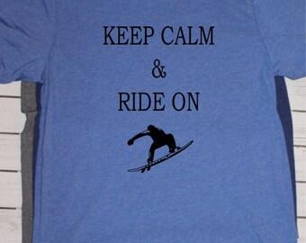 Keep calm & Ride On Wakesurfing