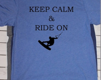 Keep calm & Ride on Wakeboarding