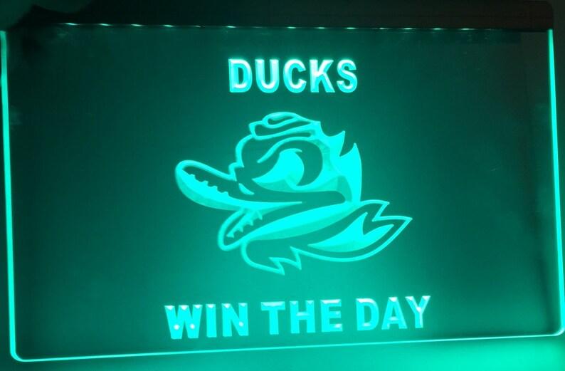 Oregon ducks win the day LED Sign