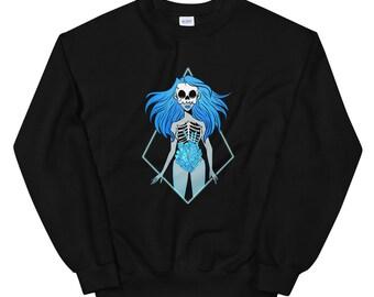 Crystals Within Unisex Sweatshirt
