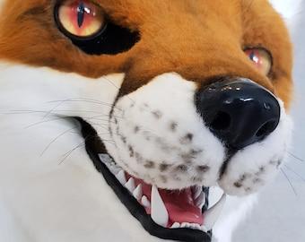 Red Fox Fursuit Head