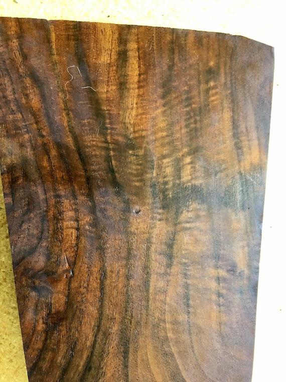 Gunstock black walnut