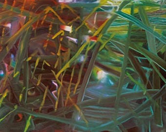 GERHARD RICHTER - 'Abstract Painting No. 439' - original archival quality print (Curwen Press, London)