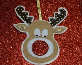 Rudolph christmas decoration
