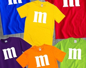 d4a262a4f94 m&m Candy Fun Group Party Costume Available in Women's, Unisex and Youth  Style