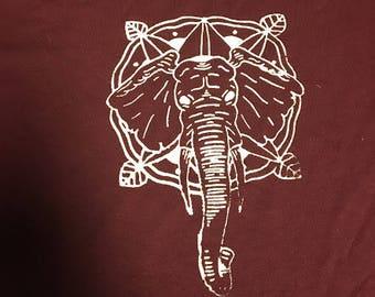 Elephant/Mandala Shirt