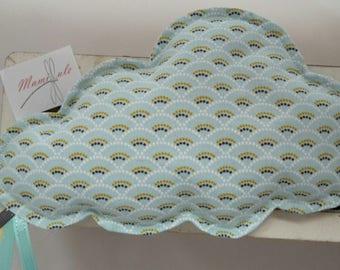 Little cloud pattern Rainbow-flaxseed heating pad