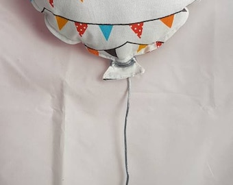 Balloon wall decoration party flags