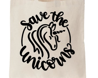 Save the Unicorns Tote