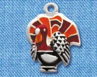 Halloween and Thanksgiving themed charm
