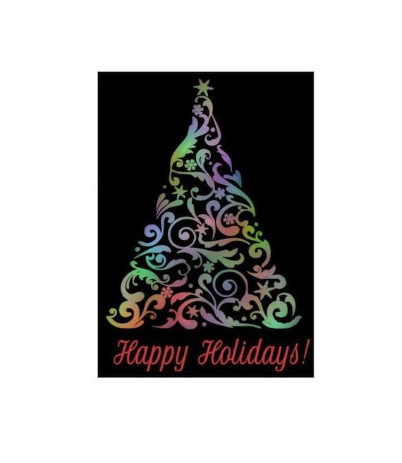 Christmas Tree Svg Christmas Svg Happy Holidays Svg Winter Etsy
