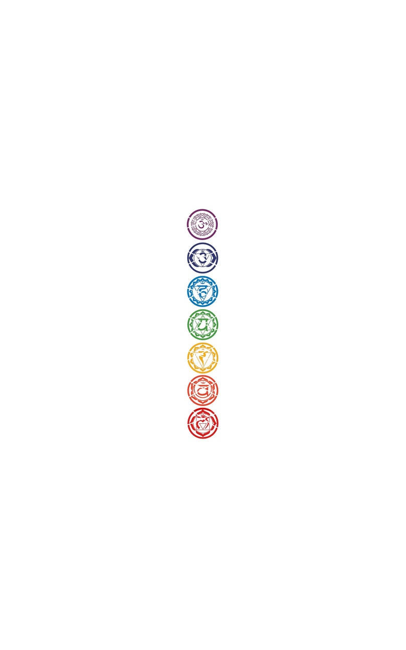 7 Chakras / Yoga / Yoga Svg /Chakras Svg / Kundalini / Kundalini Svg  /Meditation/Meditation Svg / Spiritual Svg/Svg Files/ Instant Download/