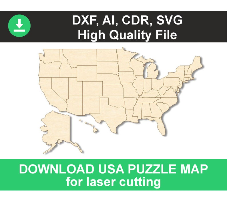 download map puzzle