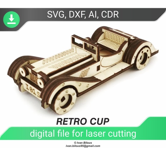CNC file . design for laser CNC and CNC milling Vector cutting plan Plywood or wood 3D puzzle separators pack