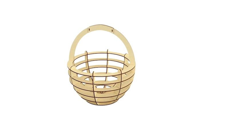 easter svg laser cut basket dxf files for laser cut files dxf egg ornaments plywood laser egg basket template egg template easter svg file