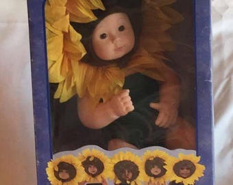 "Anne Geddes ""Baby Sunflowers"" Doll"