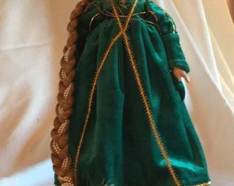 "Danbury Mint ""Rapunzel"" Porcelain Doll"