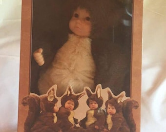 "Anne Geddes ""Baby Squirrels"" Doll"